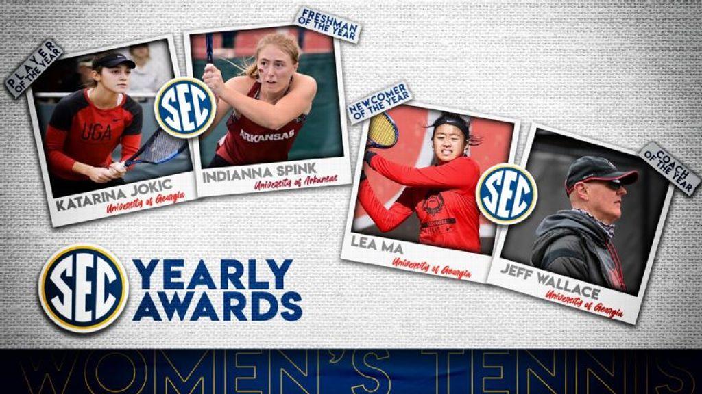 2021 SEC Women's Tennis Awards Announced