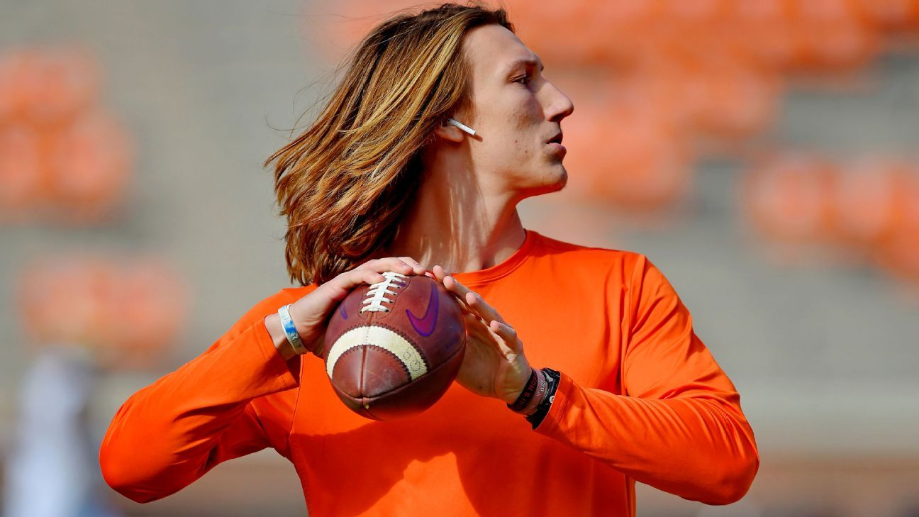 New Jaguars QB Trevor Lawrence has the mane of a person who means enterprise