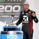 Kyle Busch marks birthday with 1st '21 Cup win
