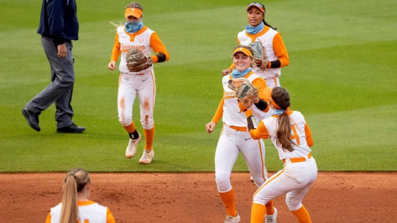 No. 16 Tennessee completes series sweep vs. Auburn