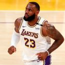 LeBron to sit out Monday with ailing right ankle