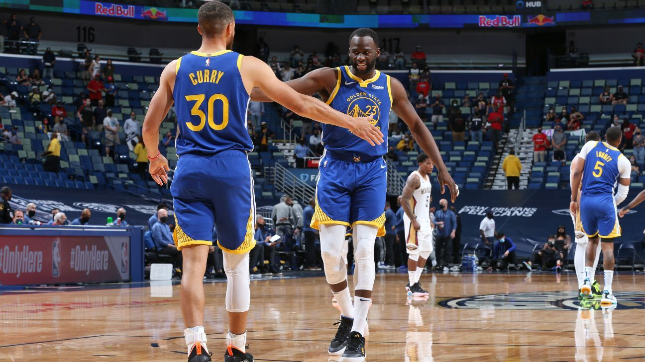 Green sums up Curry's run: 'Teams are terrified'