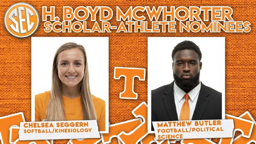Seggern, Butler Nominated for 2021 McWhorter Award
