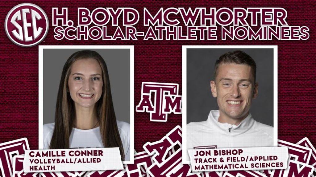 Conner, Bishop Nominated for 2021 McWhorter Award