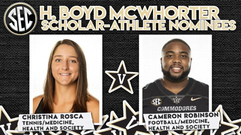 Rosca, Robinson Nominated for 2021 McWhorter Award