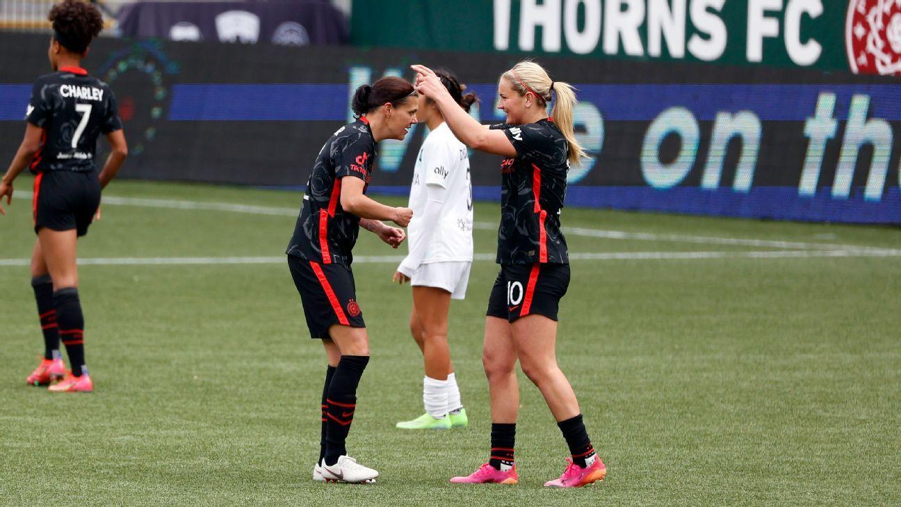 Portland Thorns FC vs. NJ/NY Gotham FC - Football Match Report - May 8, 2021 - ESPN