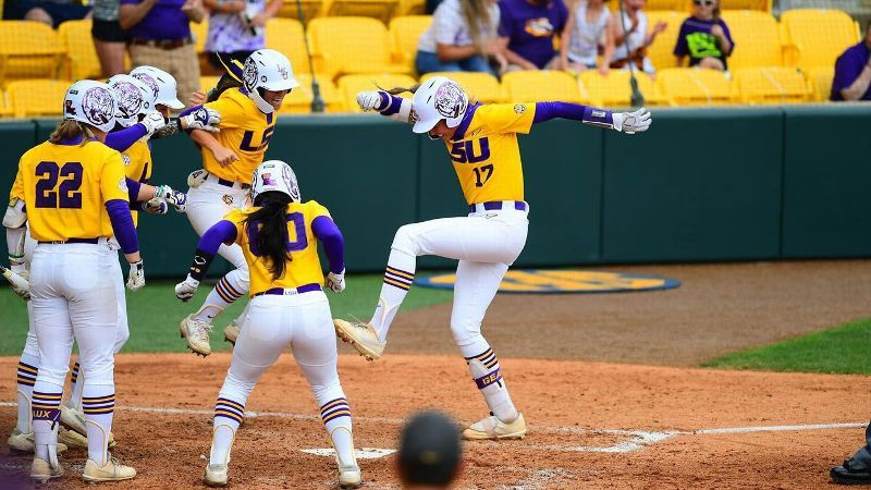 Grand slam by Pleasants pushes No. 13 LSU past Auburn