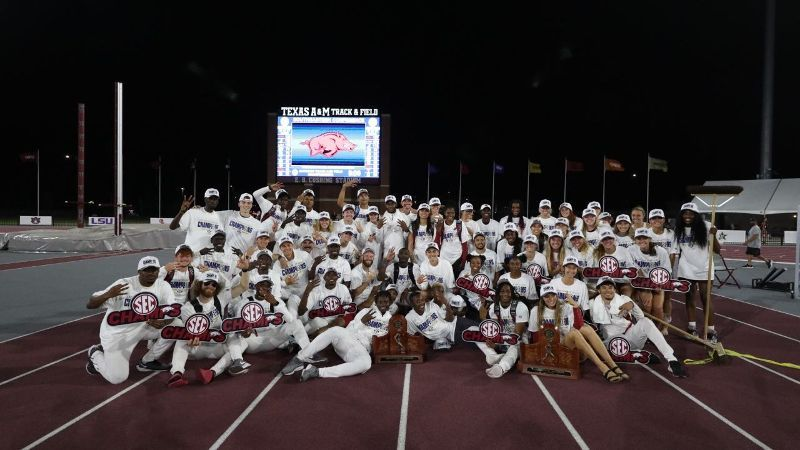 Arkansas Sweeps SEC Outdoor Track and Field Titles