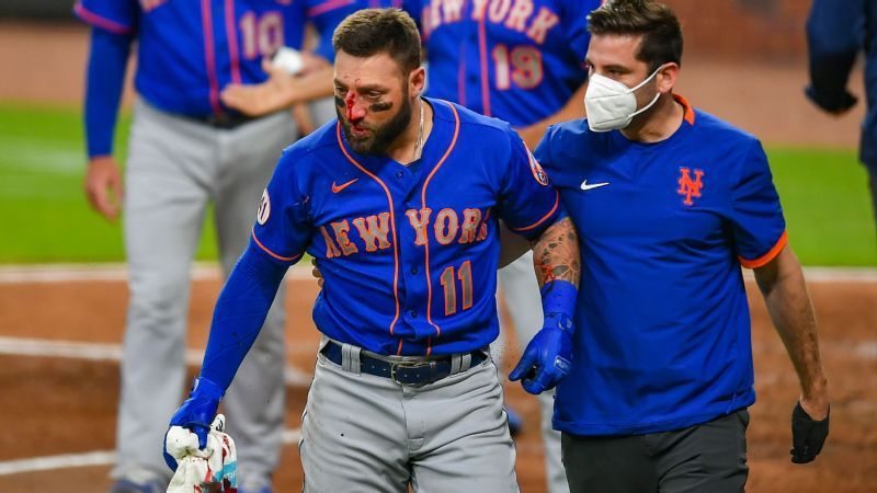 Kevin Pillar Suffered Multiple Nose Fractures