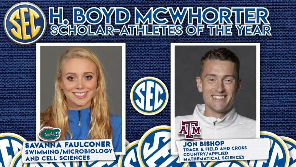 H. Boyd McWhorter Student-Athletes of the Year Announced