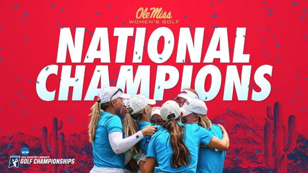 Ole Miss Women's Golf Crowned National Champion
