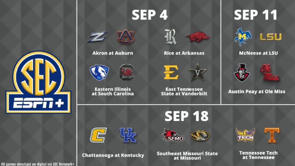 SEC Network's eighth season kicks off in Knoxville