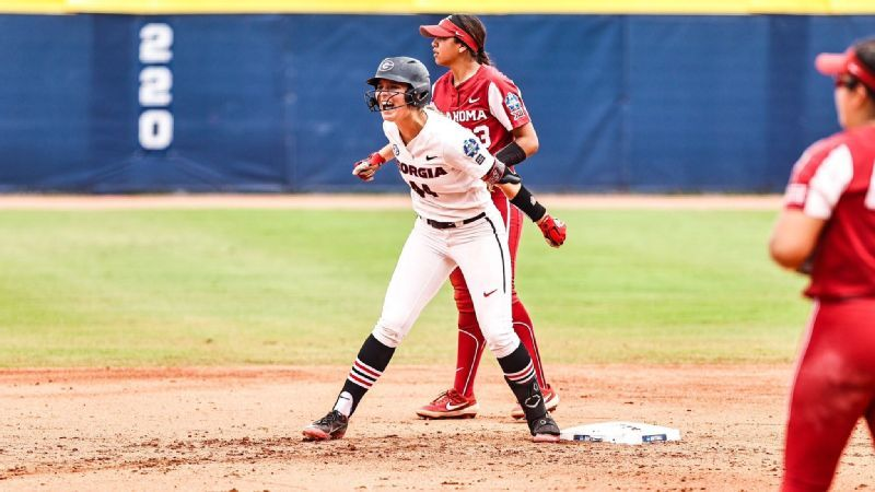 UGA falls to top-ranked Oklahoma in elimination game