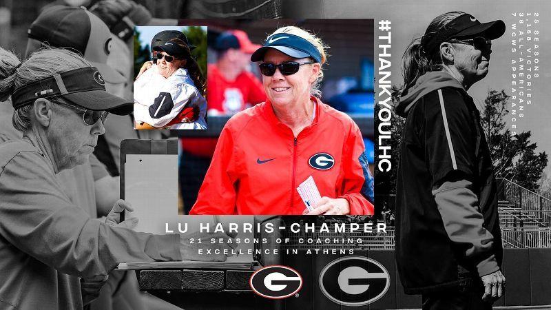Georgia's Lu Harris-Champer Announces Retirement