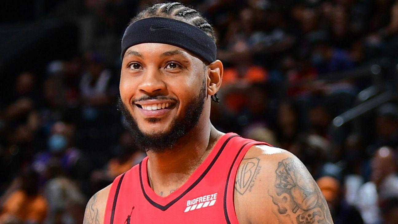 Melo among 5 up for NBA's social justice award