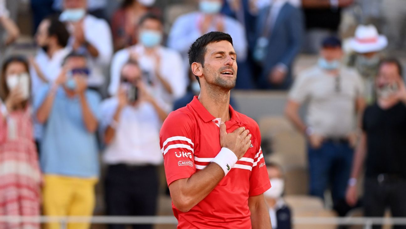There's leading, and then there's winning: Novak Djokovic showed the difference in Paris