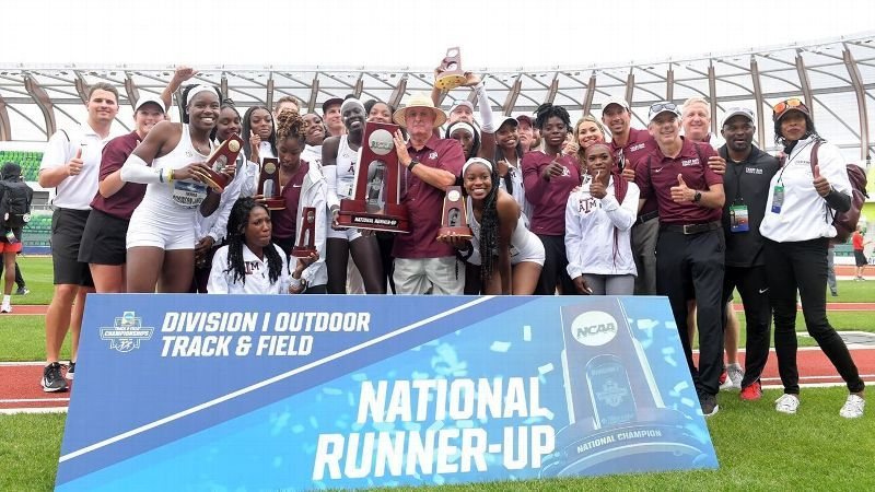 Texas A&M Women Finish Runner-Up at NCAA Championships