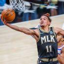 Bothered by ailing knee, Philadelphia 76ers' Joel Embiid fades in second half as Atlanta Hawks rally to tie series 3