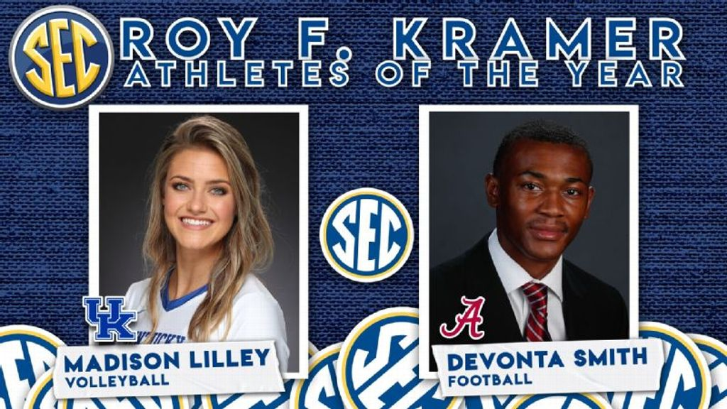 Smith and Lilley Named 2020-21 Roy F. Kramer Recipients