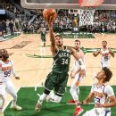 R879338 2 1296X1296 1 1 Led By Giannis Antetokounmpo, Milwaukee Bucks Use Late-Quarter Runs To Secure Game 3 Win, Climb Back Into Nba Finals