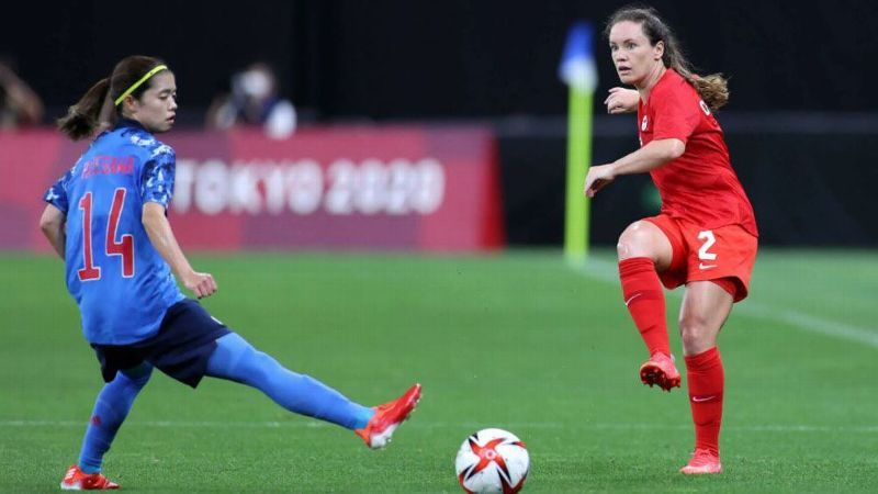 Chapman advances with Canada to Olympic knockout stage