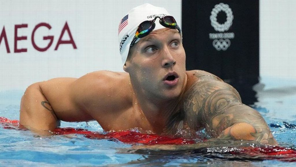 Dressel to go for another gold in 100 freestyle