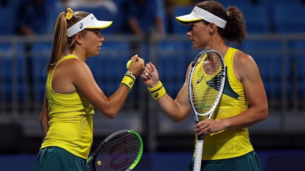 Former UGA standout Perez falls in Olympic doubles