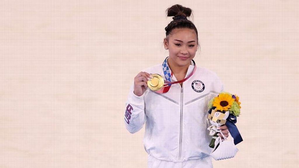 Lee wins all-around gymnastics title at Tokyo Olympics