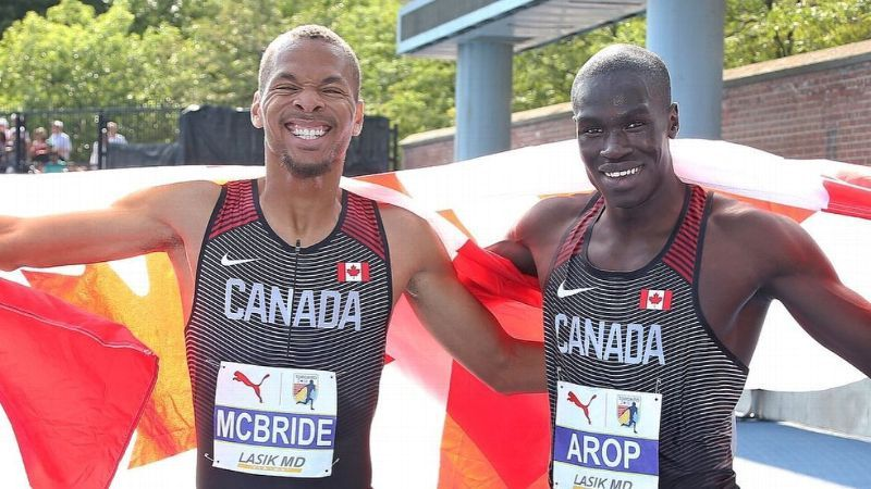 MS State's Canadian duo side by side, stride for stride
