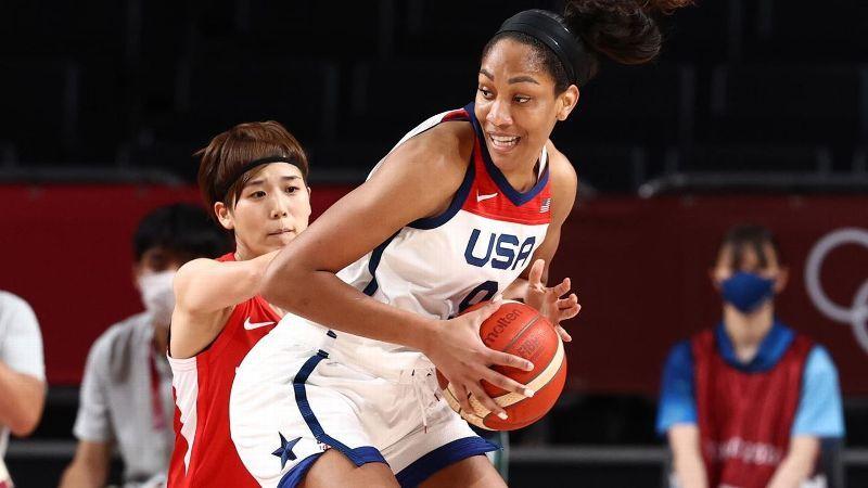 U.S. tops Japan behind Wilson double-double