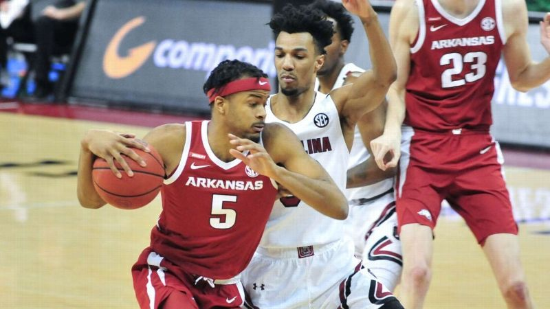 Hogs' Moody hits the lottery, gets drafted by Warriors