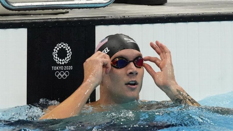 Florida's Dressel and Finke earn three gold medals