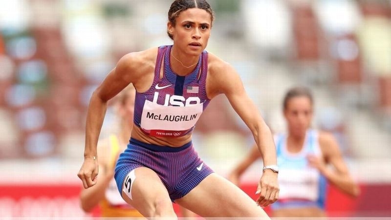 McLaughlin qualifies for Olympic 400m hurdles final