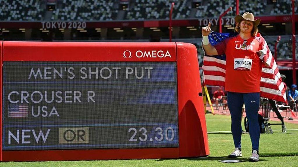 Ryan Crouser Defends Shot Put Gold