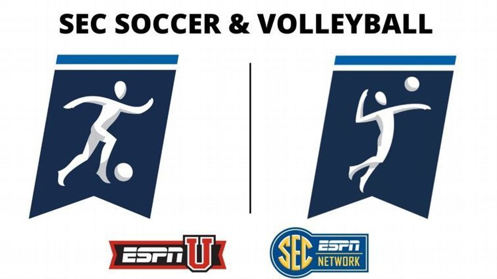 60-plus soccer, volleyball games set for SEC Network