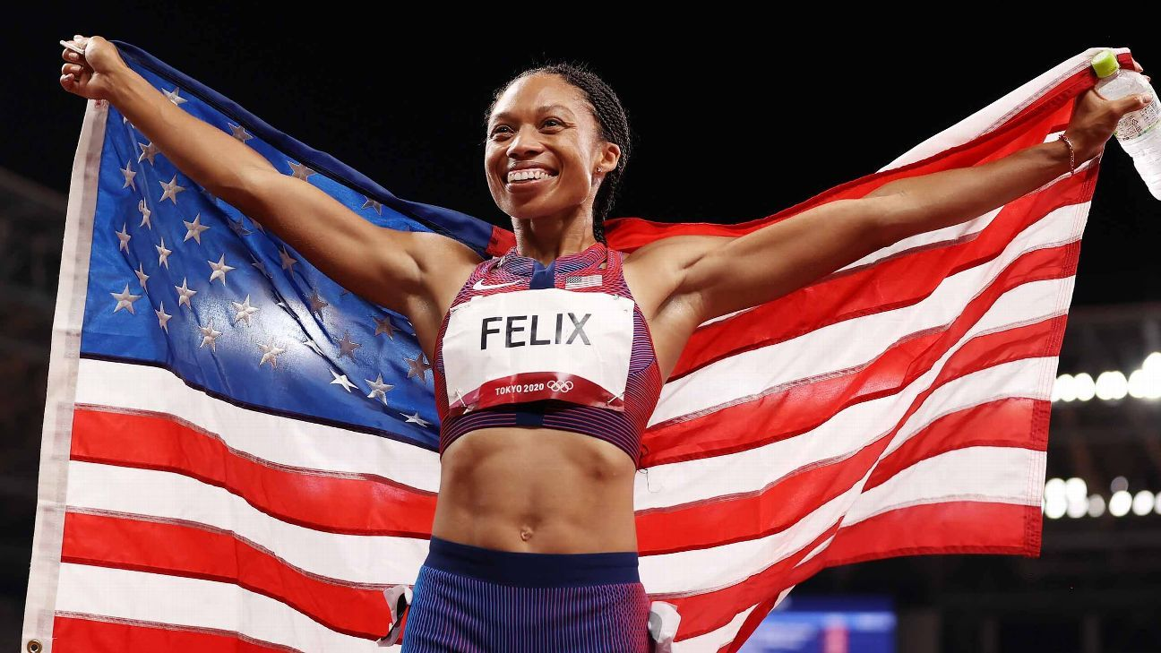 What you missed in Tokyo: Allyson Felix has the record, USA men's hoops and Nelly Korda are golden