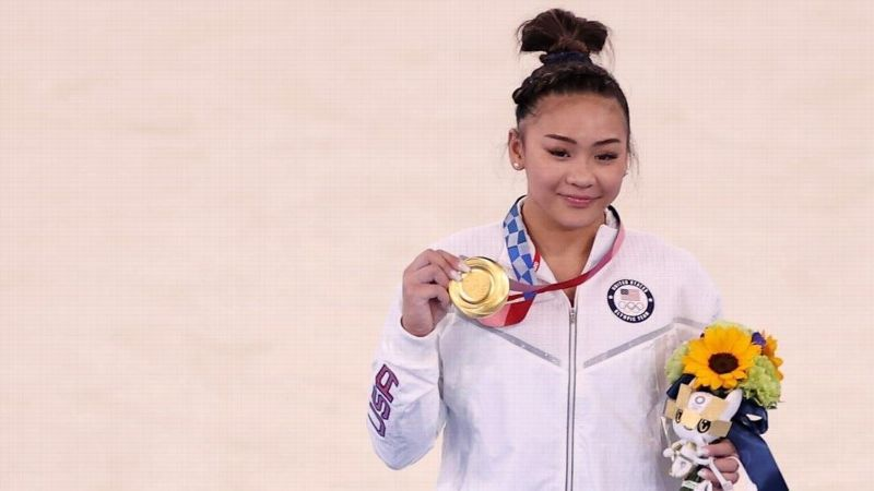 Lee wins all-around title at the Tokyo Olympics