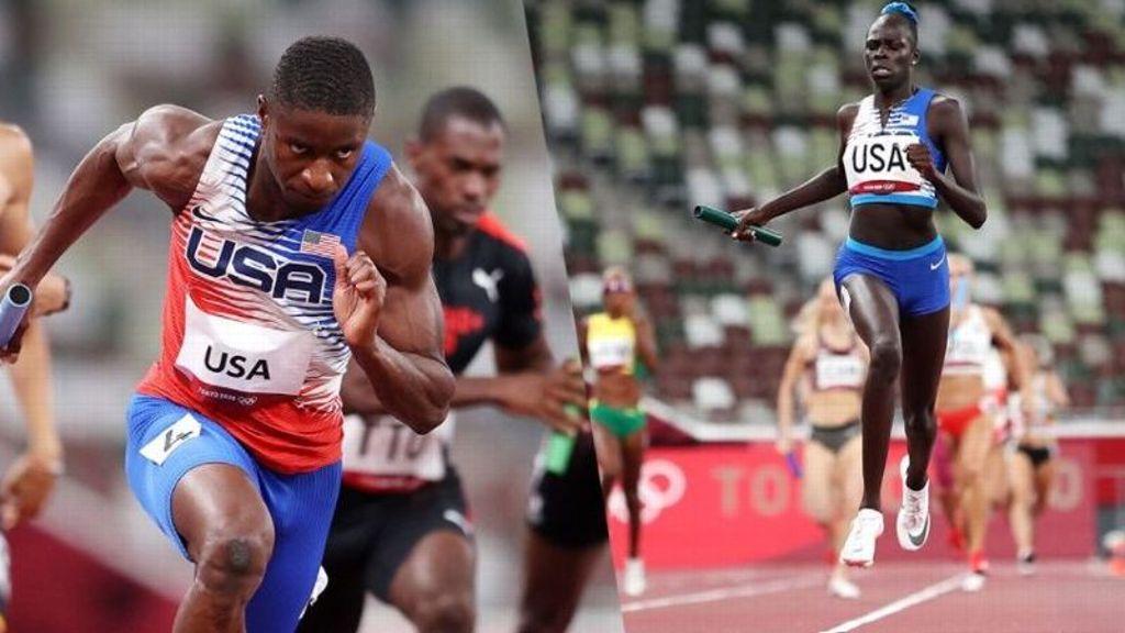 Deadmon, Mu claim Olympic 4x400m gold medals