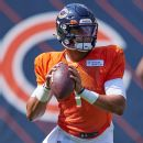 After sluggish start, Justin Fields leads two touchdown drives in Chicago Bears debut