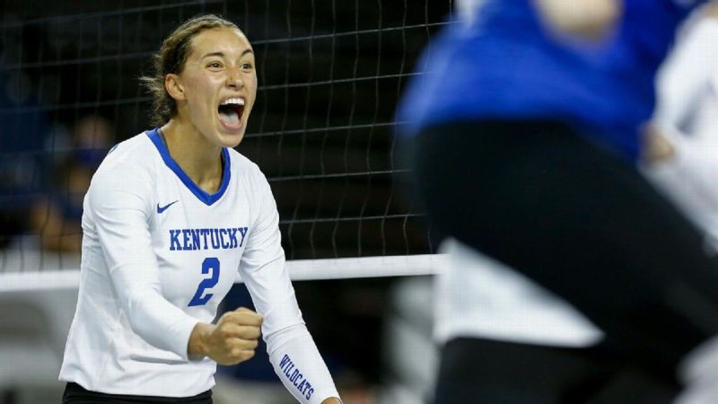 No. 8 Kentucky sweeps Marquette in a scrappy three sets