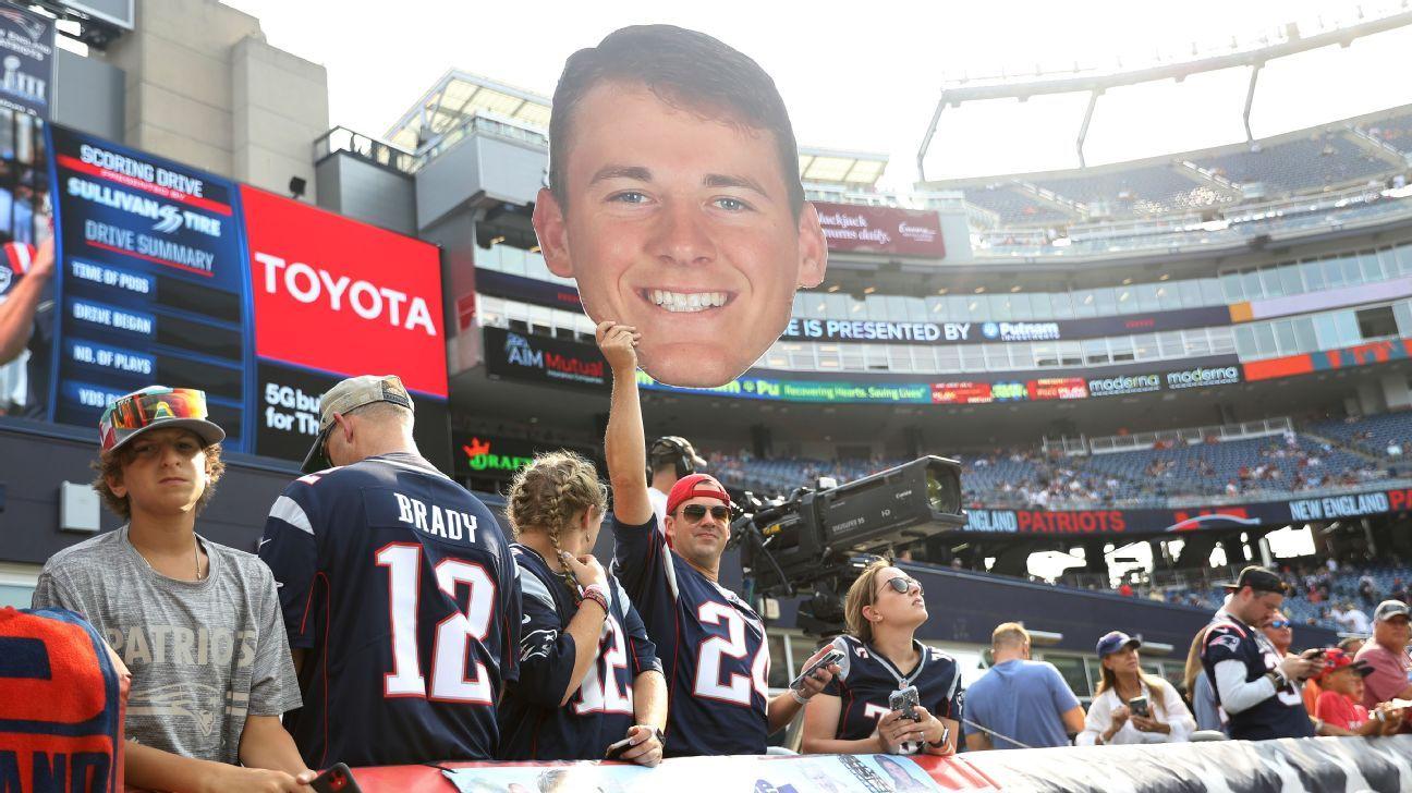 Patriots-Jets rivalry goes to Gen Z at QB: Mac Jones, Zach Wilson