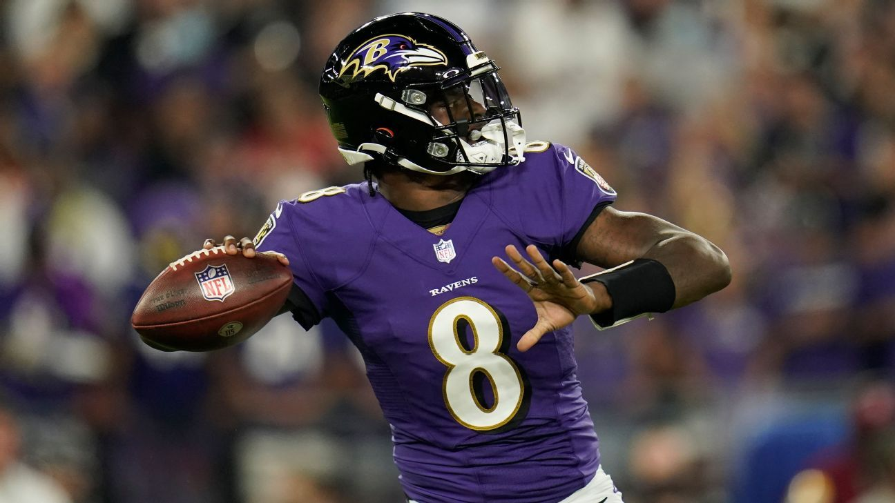 <div>Source: Ravens' Jackson (back) expected to play</div>