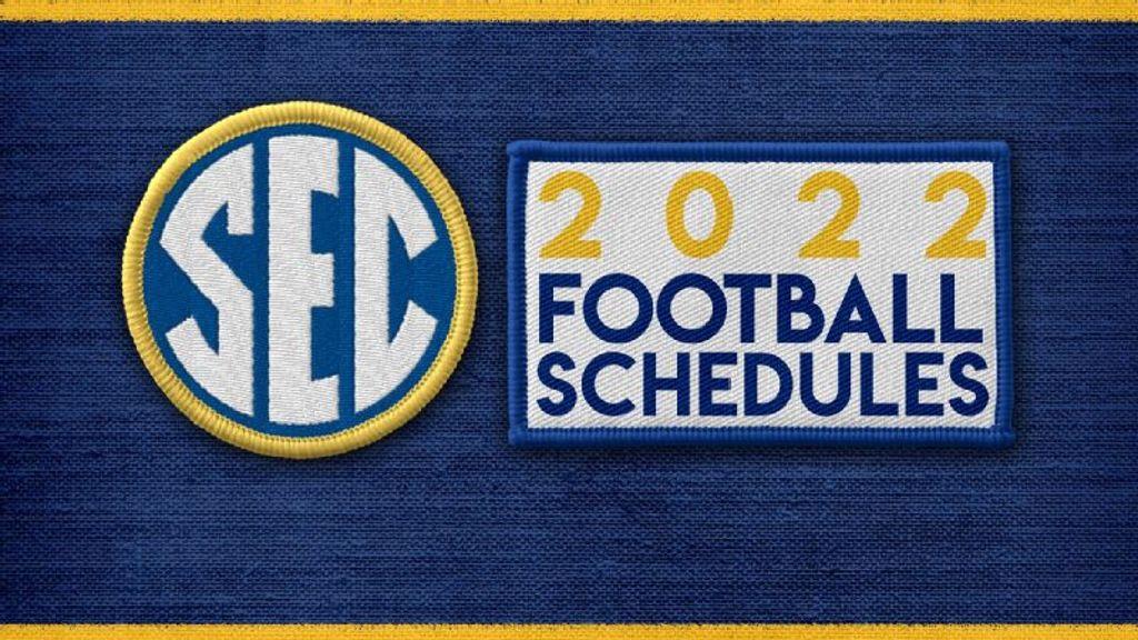 SEC Releases 2022 Football Schedule