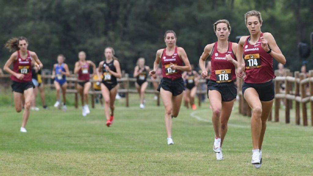 Two SEC women's cross country teams in top five