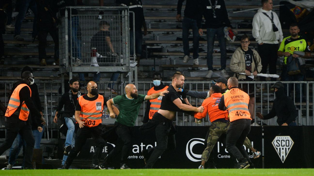 More Ligue 1 chaos at Marseille-Angers match