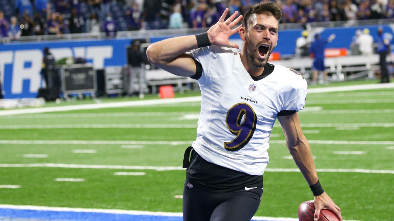 <div>Record kick earns Ravens' Tucker Madden honor</div>