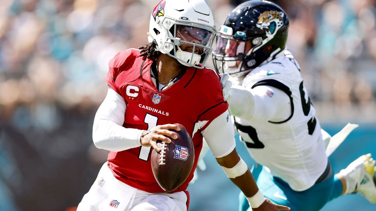 <div>'I can see it in their face': Why Kyler Murray demoralizes would-be tacklers</div>