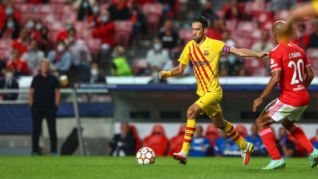 Busquets: Barcelona in 'critical' situation after loss