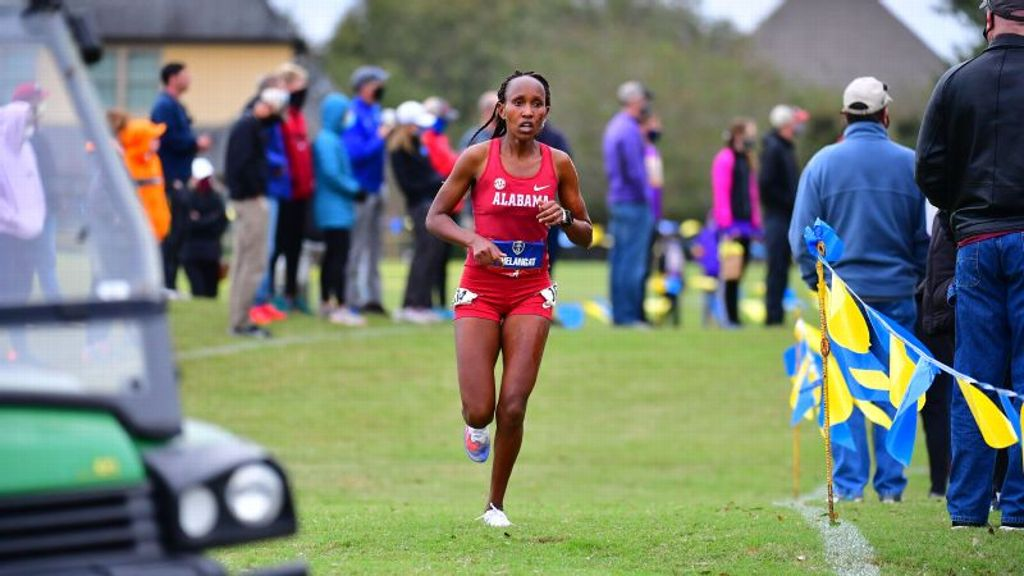 SEC cross country notebook - Oct. 6, 2021