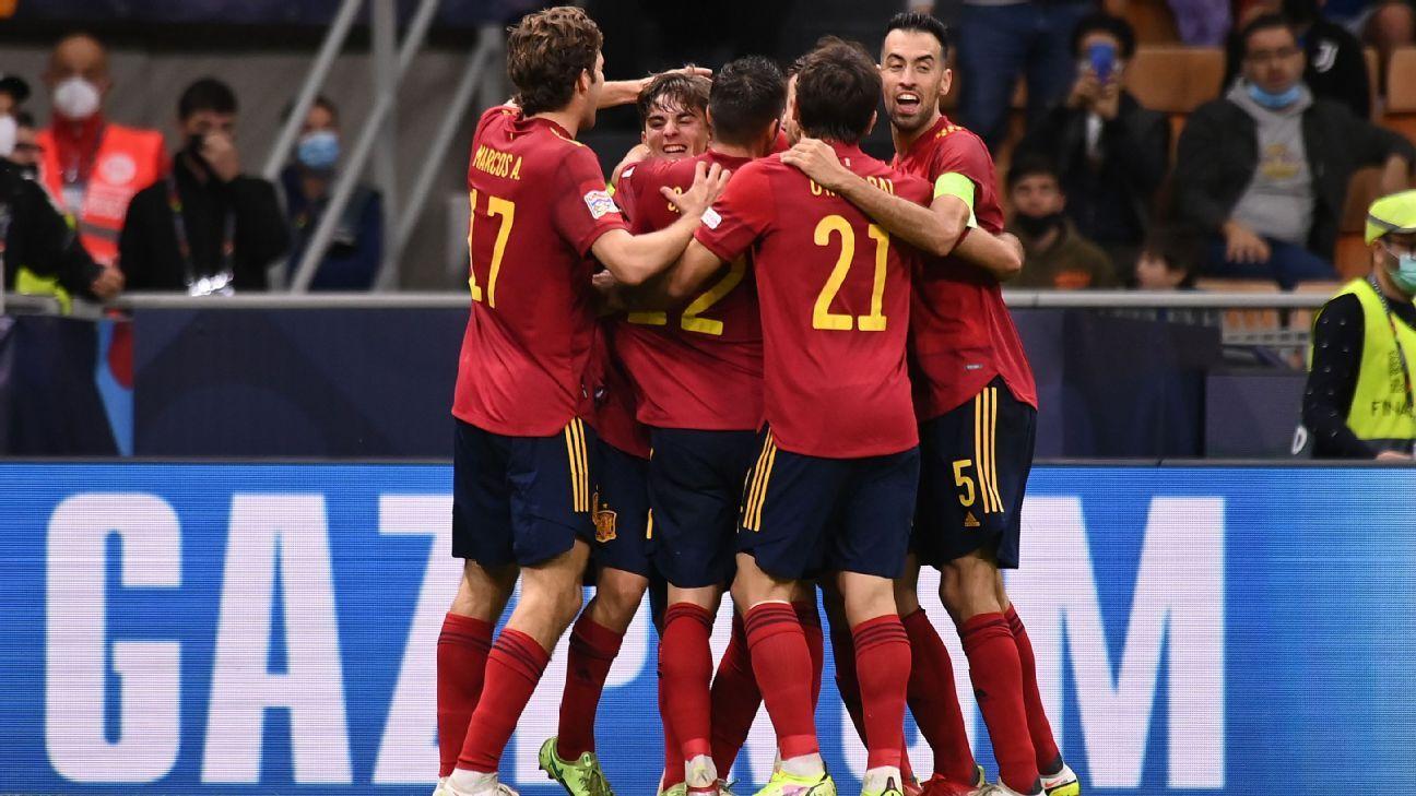 Italy vs. Spain – Football Match Report – October 6, 2021 – ESPN